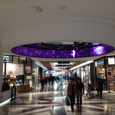 Alma shopping mall, Rennes, France