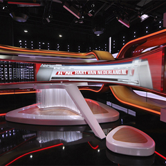 SBS Hart van Nederland with new completely new set redesigned by LedGo Sales